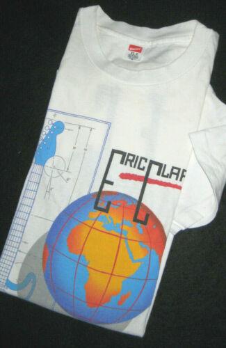 "ERIC CLAPTON Vintage ""JOURNEYMAN WORLD TOUR 1990"" T-Shirt (XL)"