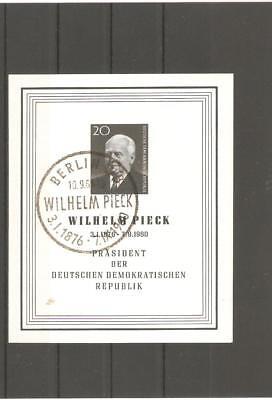 Briefmarken---DDR---1960-----gestempelt----Mi 784B----Block m16 -----