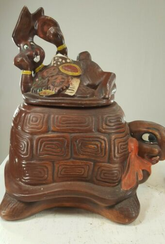 Vintage Cookie Jar Scarecrow Very Old and Very Collectible RARE
