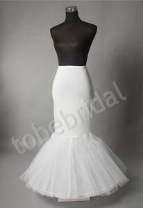 Wedding Petticoat Bridal Hoop Hoopless Crinoline Prom Underskirt Fancy Skirt s l