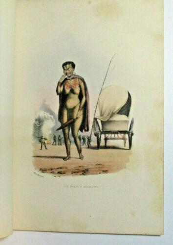 "William Cornwallis Harris ""The Pretty Bush-Girl"" 1852 Africa Lithograph"