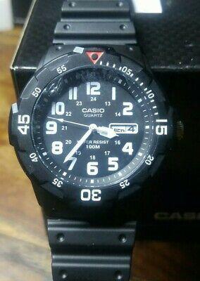 Mens Casio MRW-200H Military Army Analogue Sports 100 m WR- brand new.