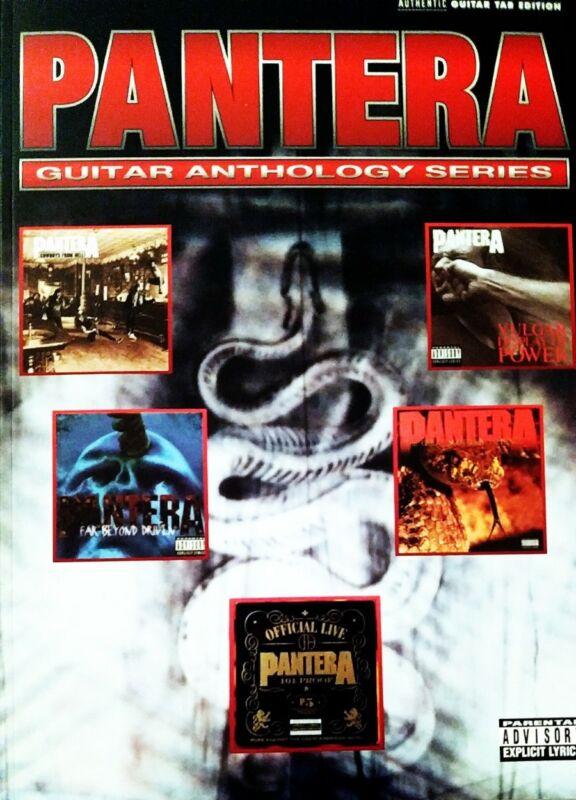 PANTERA GUITAR TAB / TABLATURE / ***BRAND NEW*** / PANTERA ANTHOLOGY / SONGBOOK