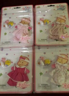 Used, Baby born mini world Zapf creations lot of 8 clothes accessories doll for sale  Byron