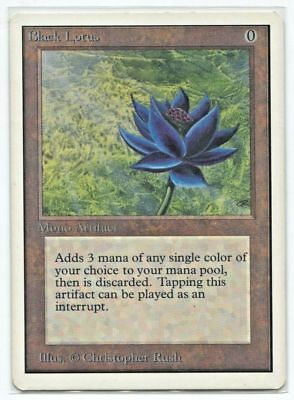 Magic MTG - BLACK LOTUS Repacks - Power 9 Dual Lands Masterpiece PLANESWALKER