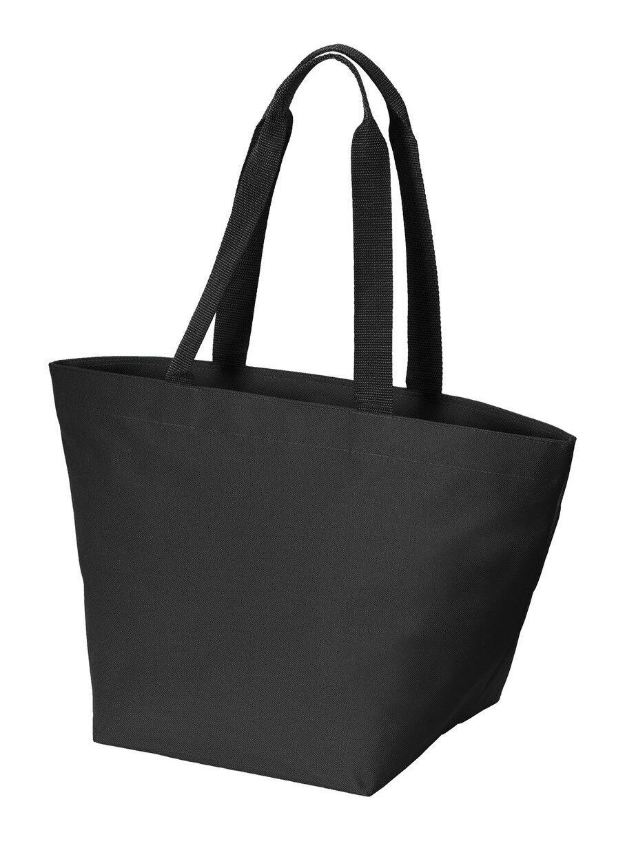 Zip Over The Shoulder Carryall Shopper Tote Bag Travel Work