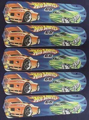 Racing wheel fan new hot wheels race cars 52 ceiling fan blades only mozeypictures Image collections