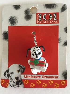 Disney 101 Dalmatians 1996 Miniature tiny tree Ornament Christmas present gift