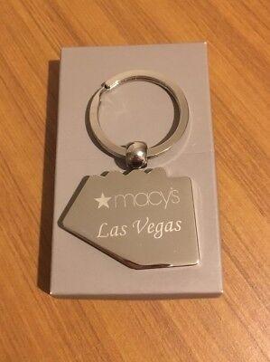 Genuine Macys Keyring From Las Vegas *Rare And New*