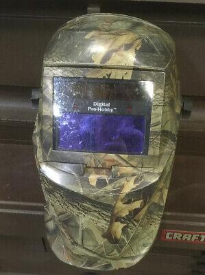Miller Welding Helmet Digital Pro Hobby Welder Shield Mask Otos Z87 Colts