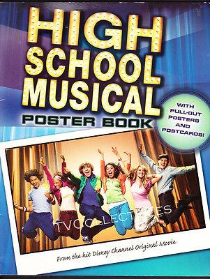 Poster Book~ HIGH SCHOOL MUSICAL ~2006 ~Zac Efron ~Ashley Tisdale ~Corbin Bleu