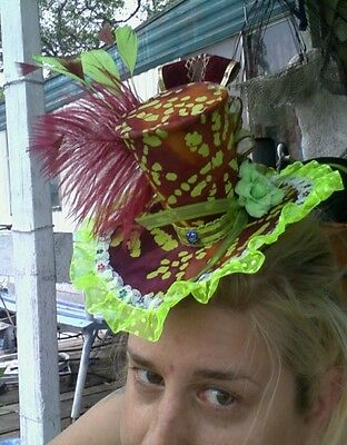 Steampunk costume ball birthday tea party mini mad hatter top hat](Steampunk Mad Hatter Costume)