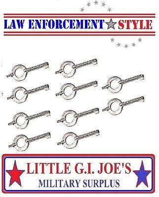 Handcuff Keys Universal Handcuff Key You Get 10 Cuff Keys 10094
