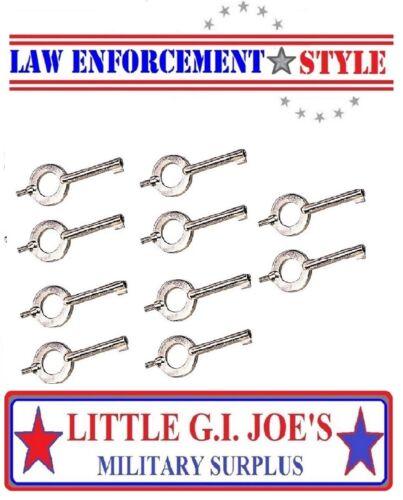 Handcuff Keys Universal Handcuff Key  YOU GET ( 10 ) CUFF KEYS  10094