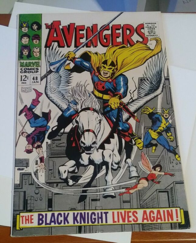 Avengers # 48 - 1st new Black Knight