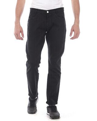 Daniele Alessandrini Jeans Trouser Man Black PJ5706L3403835 1 NWT Sz 32 PUTOFFER