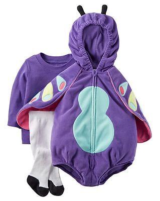 n Halloween Schmetterling Plüsch Kostüm 6-9m Monate Nwt Top (6-9 Monate Mädchen Halloween-kostüme)