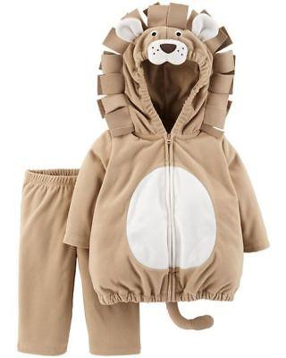 Neu Carter's Halloween Mädchen Jungen Löwe Plüsch Kostüm Nwt 3-6m Monate 6-9m