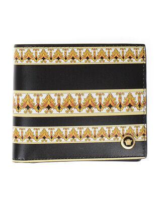 Versace Wallet Leather ITALY Man Black DPU2463 DVT5D DNMOH Sz. U PUT OFFER