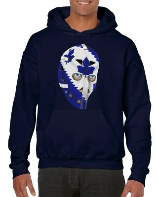Toronto Maple Leafs Goalie Mask Hoodie Mike Palmateer ()