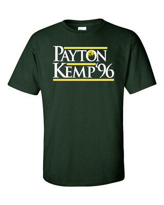 Shawn Kemp Gary Payton Seattle Supersonics  Payton Kemp 96  T Shirt