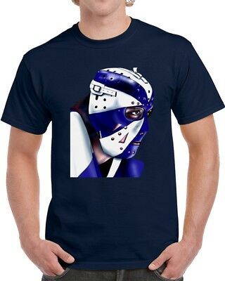 Toronto Maple Leafs Goalie Mask Tee Shirt Dunc Wilson | Multiple Colors & Sizes