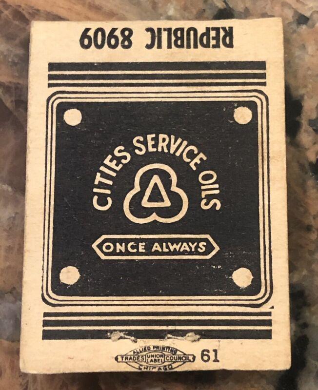 Vintage Cities Service