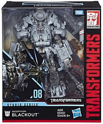 Hasbro Takara Tomy Transformers Studio Series Blackout