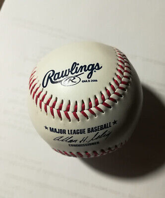 Palla Baseball RAWLINGS R Yankees 2006 Major League UFFICIALE New York rara