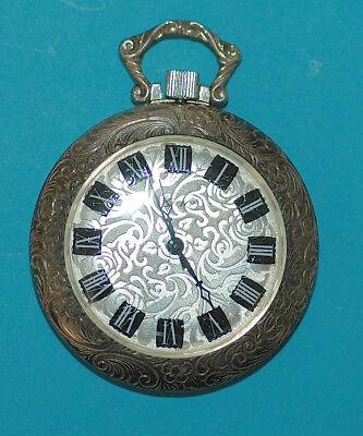 Sehr schöne, neuwertige Trachten -  Taschenuhr in 835 Silber 38,5 mm Durchmesser