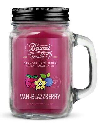 Beamer Smoke Killer Candle 12 oz - Scent: Van-Blazzberry - The Best!