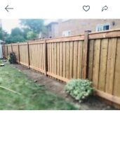 Concrete, Interlock and Wooden Fences