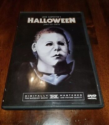 Halloween (DVD, 1999, Restored Version) Jamie Lee Curtis Anchor Bay with - Halloween Movie With Jamie Lee Curtis