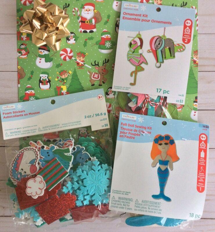 Creatology Christmas Craft Kits Flamingo Ornament + Mermaid+ Foam Unicorns Sloth