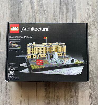 LEGO Architecture Buckingham Palace 21029, NEW Sealed (Minor Box Damage)
