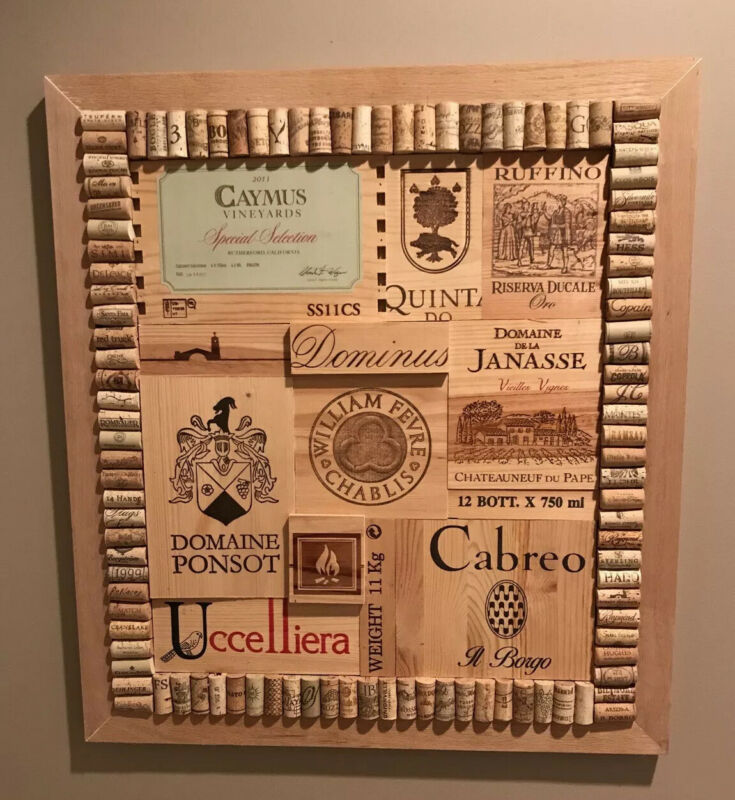 Wine Box Art Panels Mosaic Art