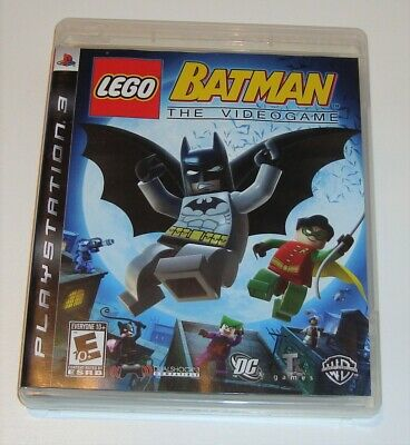 LEGO Batman The Videogame Sony PlayStation 3 PS3 Video Game