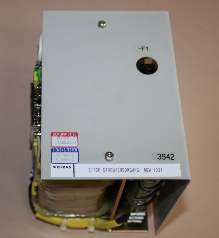 Siemens SWE 449403903700 Power Supply with 3 phase transformer