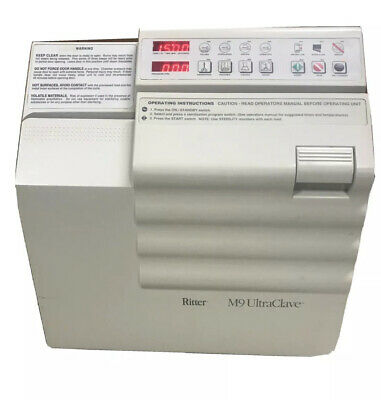 Autoclave Ritter Midmark M9 Ultraclave Sterilizer Great Cond