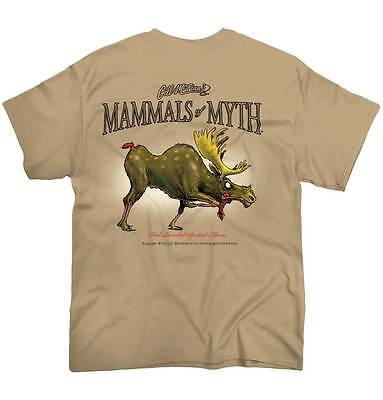 Bearded Spotted Moose Sporting Goods Hunting Gear Funny Cool Tee T-Shirt - Cool Moose