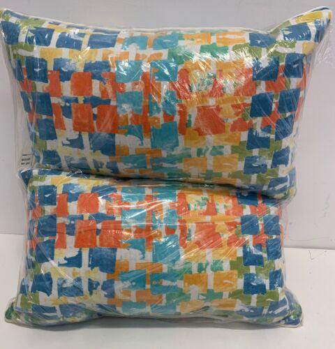 Pillow Perfect Outdoor/Indoor Quibble Sunsplash Rectangular