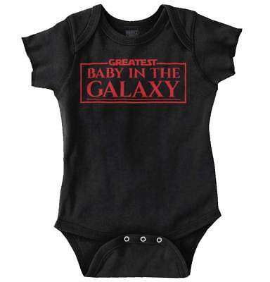 Greatest Baby In The Galaxy Star Wars Cool Gift Cute Funny Romper - Star Wars Baby Gifts
