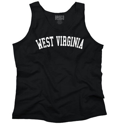 West Virginia State Shirt Athletic Wear USA T Novelty Gift Ideas Tank Top Shirt ()