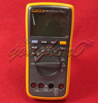 1pcs Fluke 17b Digital Multimeter Tester Dmm With Tl75 Test Leads F17b