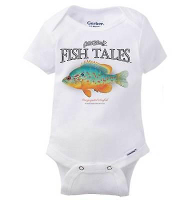 Sport Baby Onesie - Orangspotted Sunfish Funny Fisherman Hobby Sport Dad Gift Baby Gerber Onesie