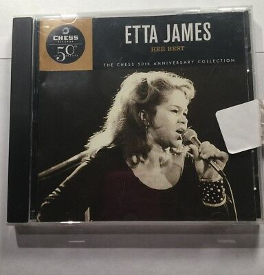 ETTA JAMES Her Best: The Chess 50th Anniversary Collection CD