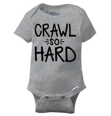 Crawl So Hard Kanye Song Gerber Onesie | Jay Z Hip Hop Rap Humor Baby Romper Hip Baby Onesies