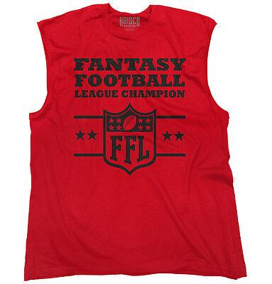 Fantasy Football Champion Funny Shirt Cool Sporting Good Gift Sleeveless T Shirt