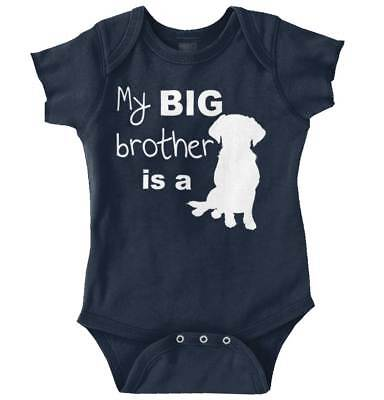 Big Brother Funny Shirt | Gift Animal Lover Newborn Baby Edgy Romper Bodysuit