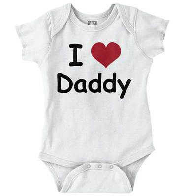 I Love Daddy Worlds Best Fathers Day Shower Newborn Romper Bodysuit For (Best Day For Baby Shower)